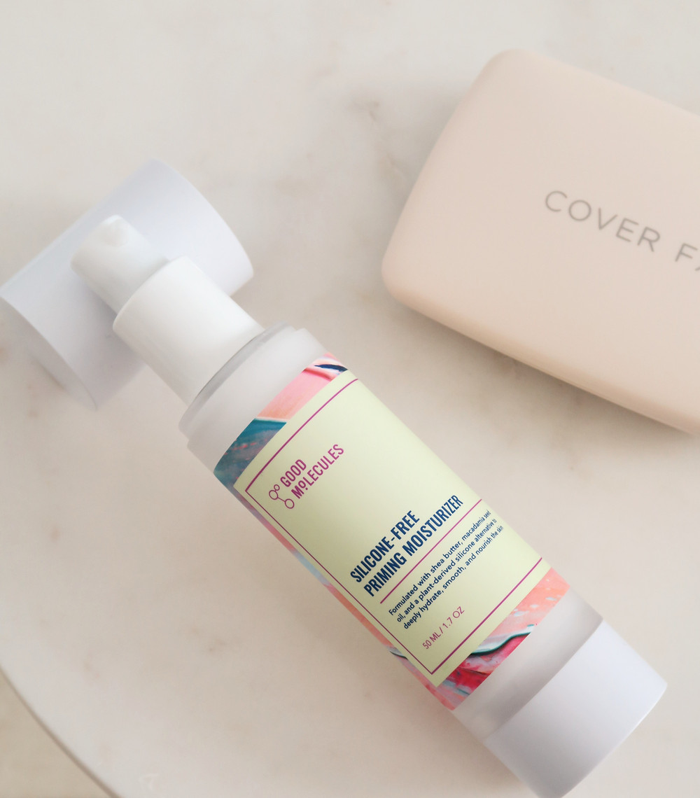 good molecules silicone-free priming moisturizer review