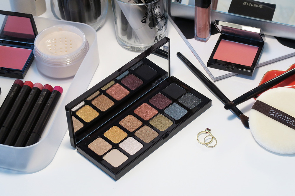 laura mercier hidden gems eye shadow palette review