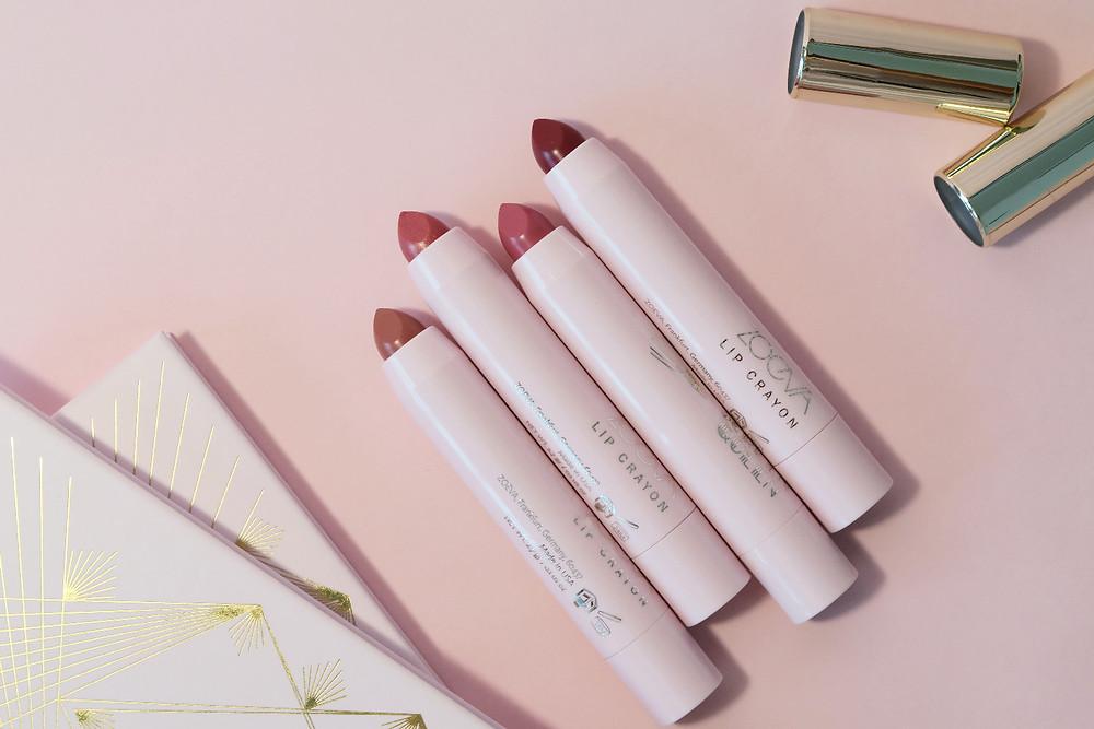 zoeva screen queen lip crayons
