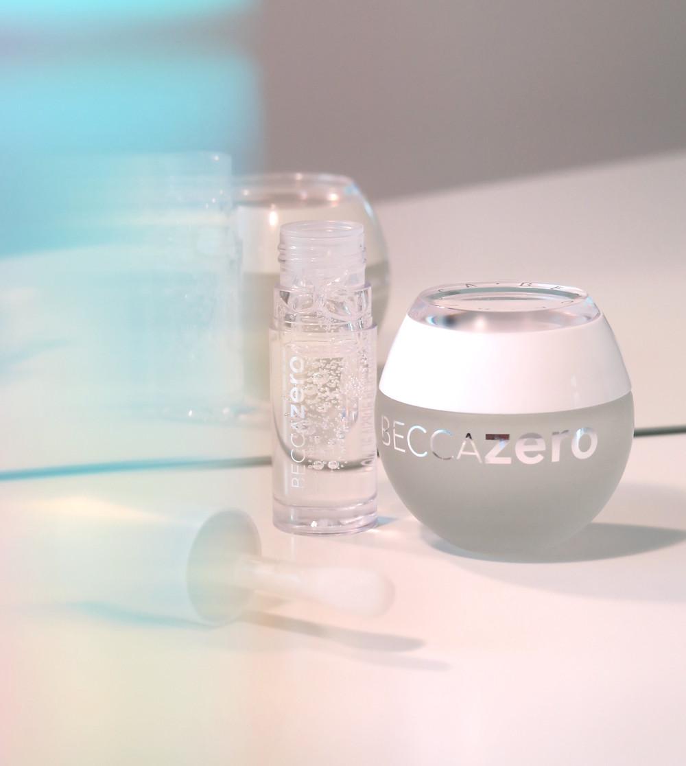 becca cosmetics zero no pigment collection review