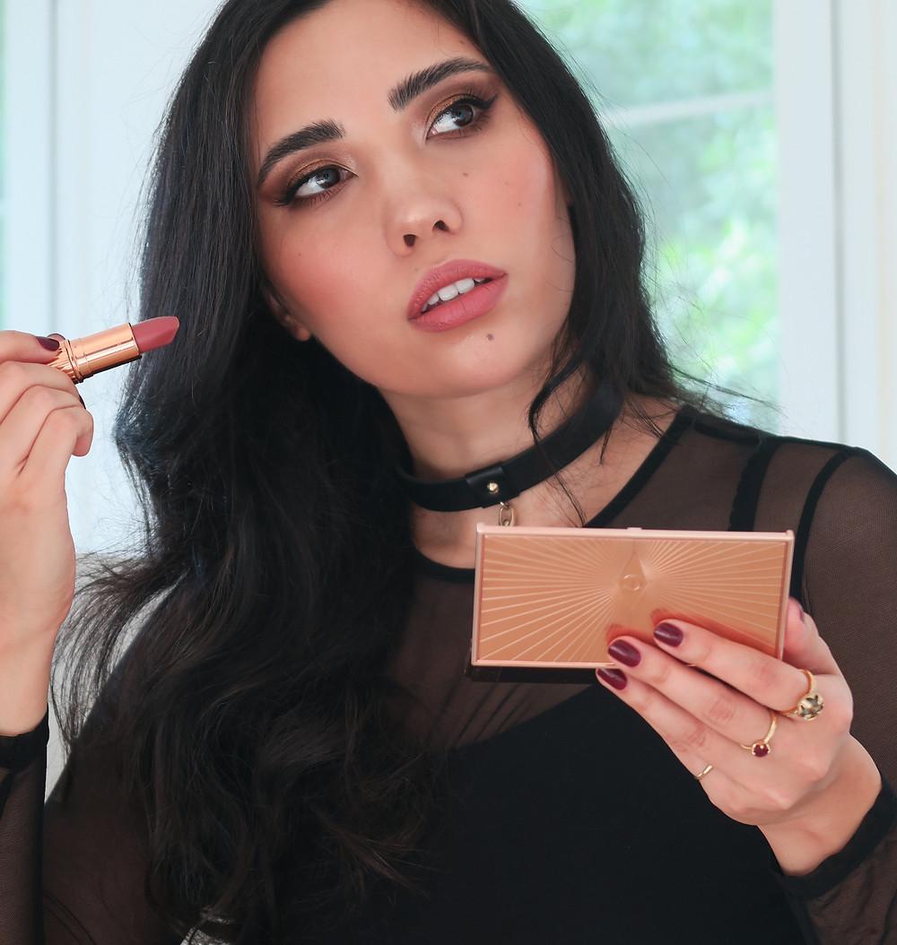 charlotte tilbury makeup look