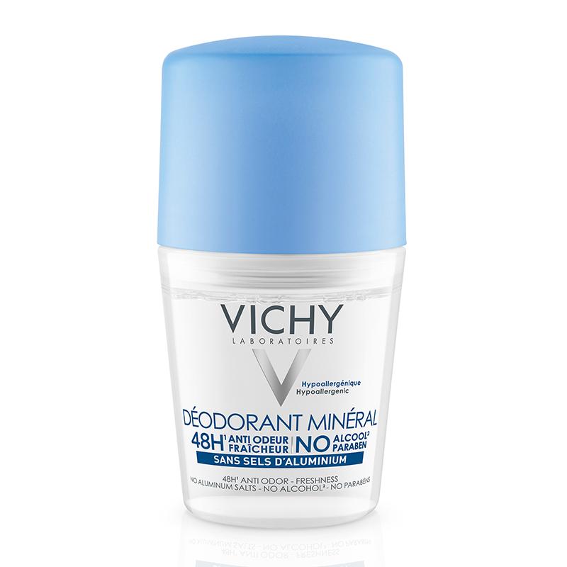 vichy mineral aluminium free deodorant review