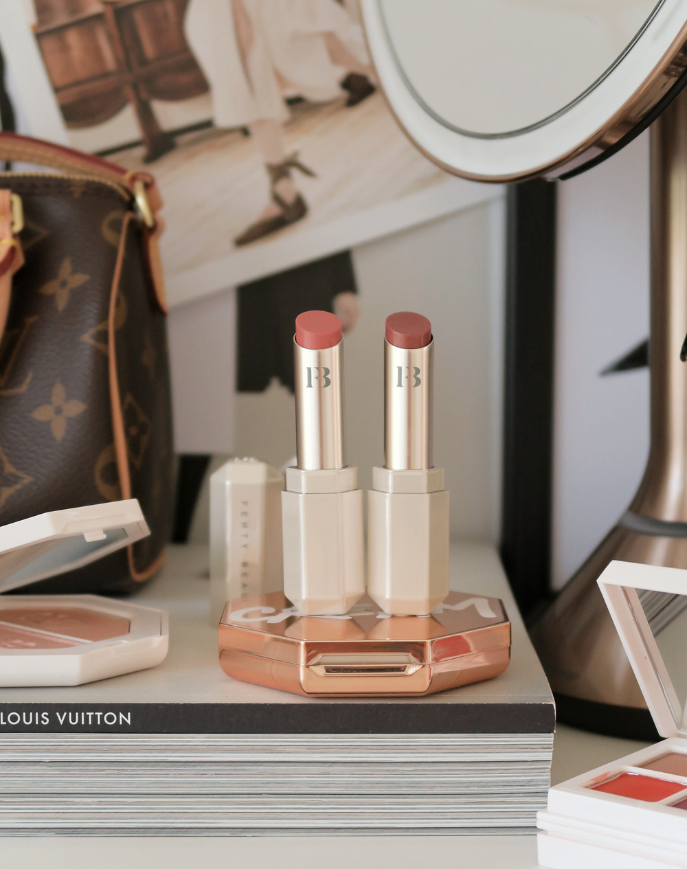 fenty beauty slip shine sheer shiny lipstick review