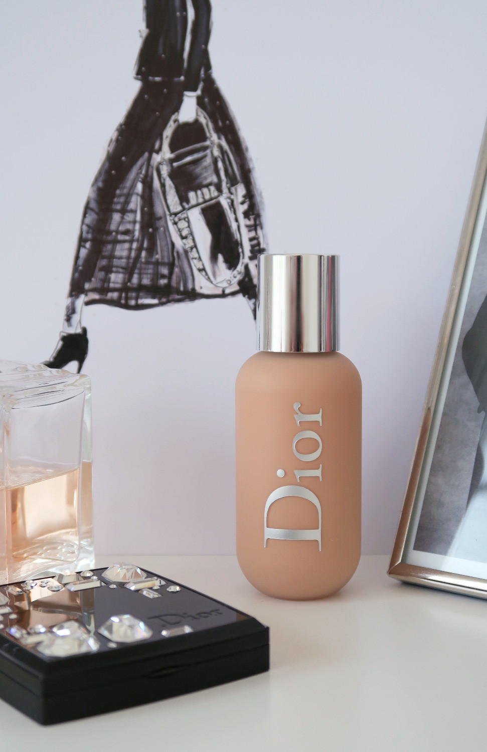 dior backstage face & body foundation review