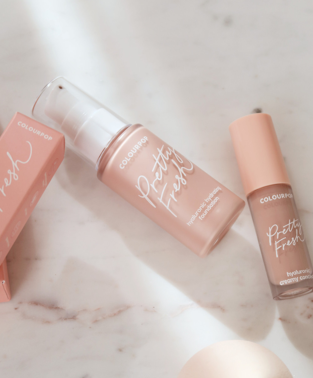Colourpop Pretty Fresh Hydrating Foundation and Concealer Review