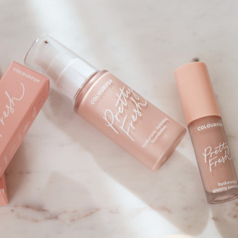 Colourpop Pretty Fresh Foundation & Concealer, Review