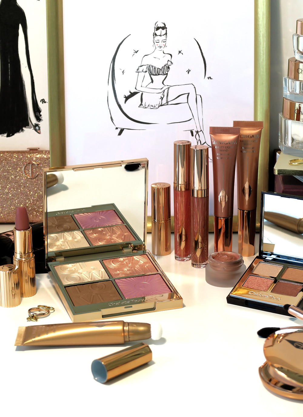 charlotte tilbury dreamgasm collection review