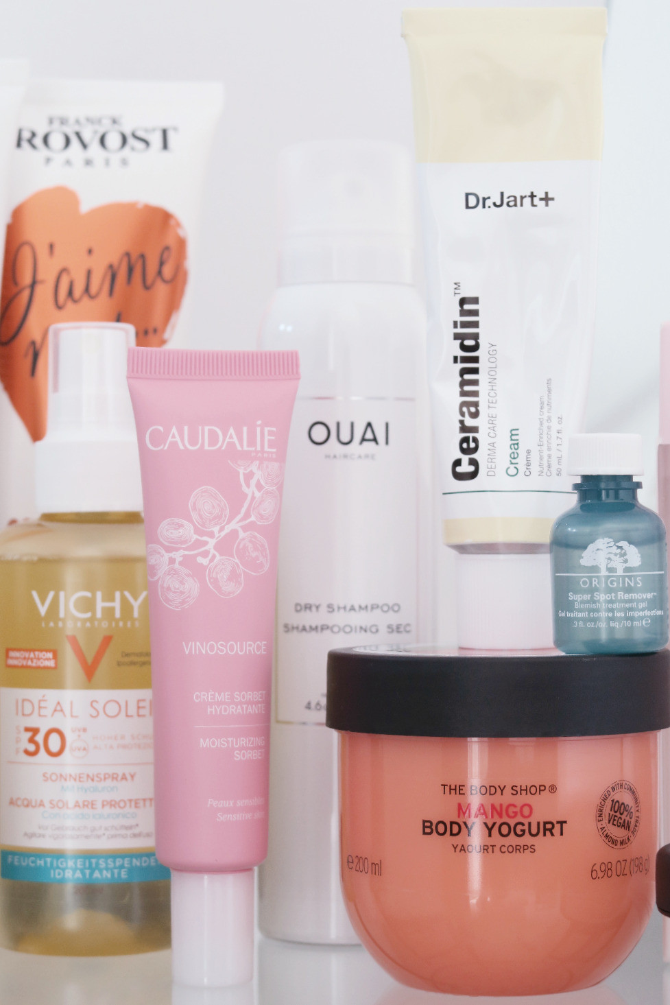 skin, hair and body favourites june 2018