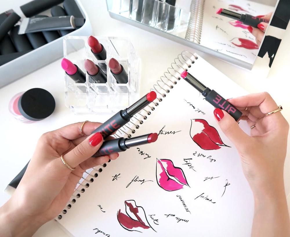 bite beauty outburst longwear lip stain review