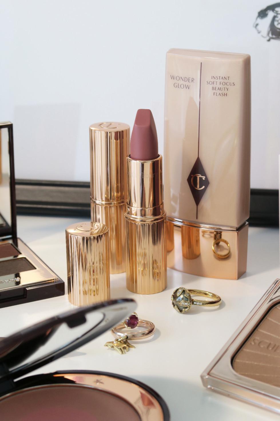 charlotte tilbury pillow talk lipstick lip liner review