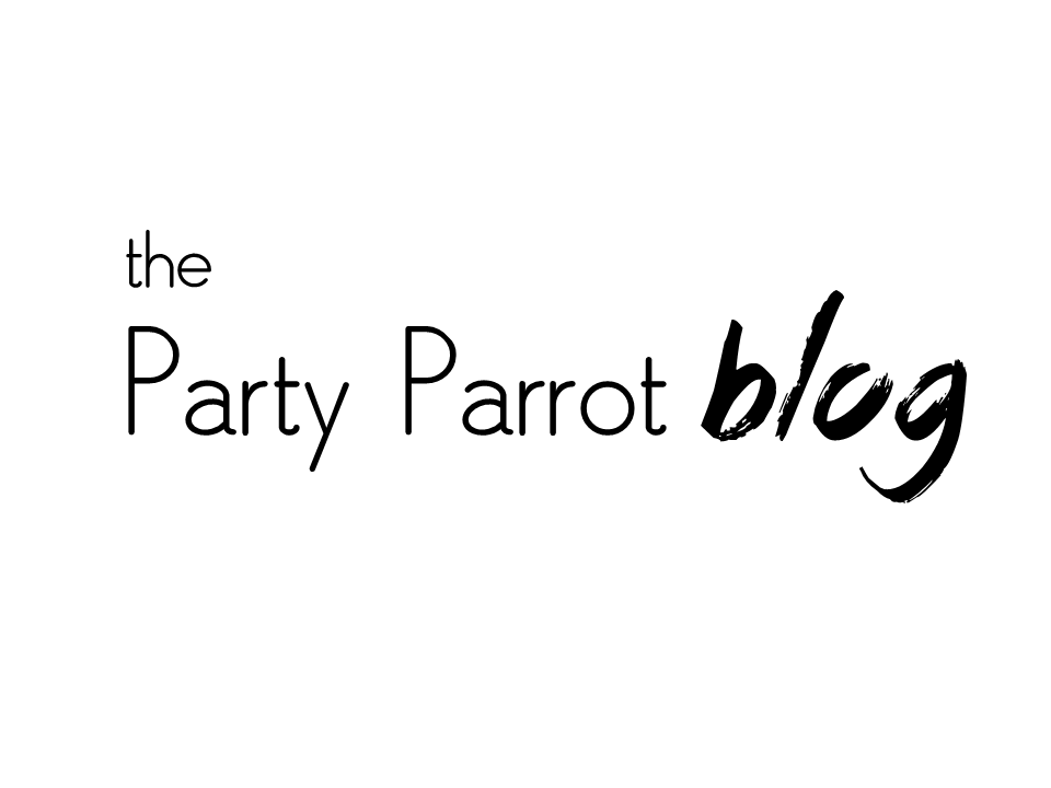 The Party Parrot Blog