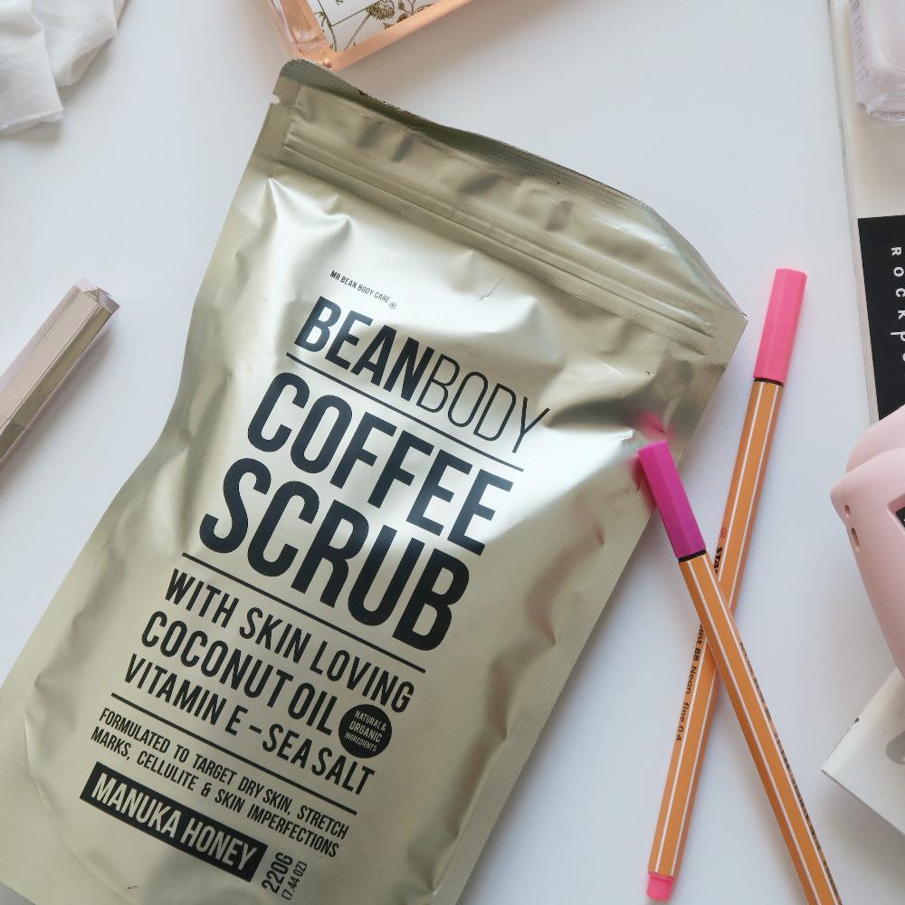 beanbody coffee scrub review