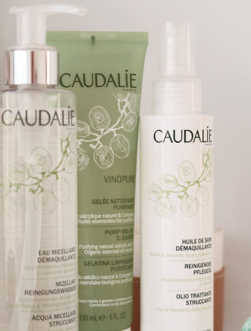 Double-Cleansing Routine Feat. Caudalie