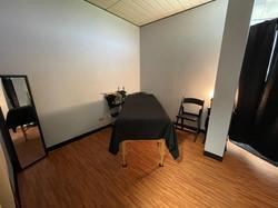 Sculpting treatment room