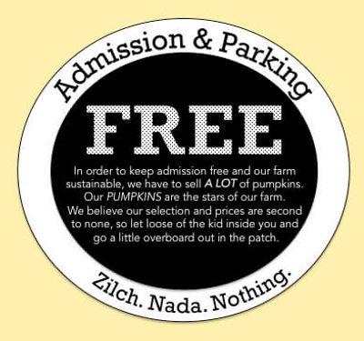 Yep. It's free to visit us!