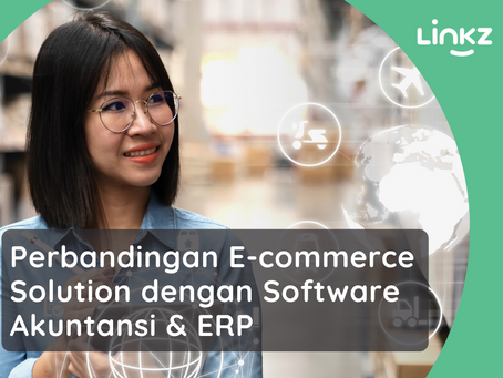 Comparison of E-commerce Solution with Accounting Software & Enterprise Resource Planning (ERP)