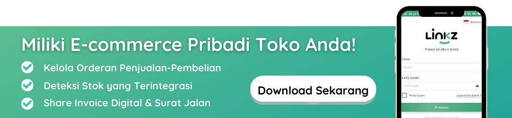 Miliki E-commerce Pribadi Linkz App