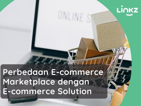 Perbedaan E-commerce Marketplace dengan E-commerce Solution
