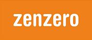 Zenzero Logo Orange with White Font - La