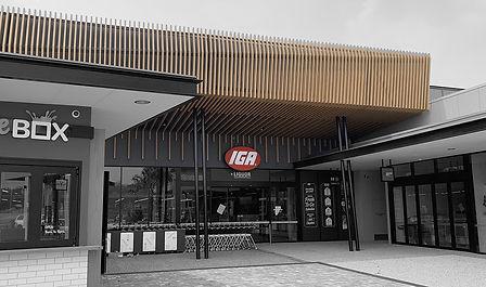 Shopfitting IGA supermarkets -Ausmart