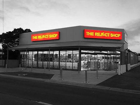 Shopfitting The reject shop -Ausmart