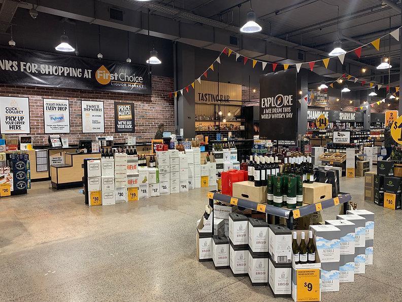 Liquor store fitouts I Ausmart International
