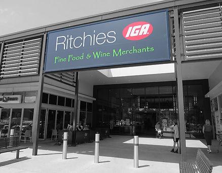 Shopfitting Ritchies supermarkets -Ausmart