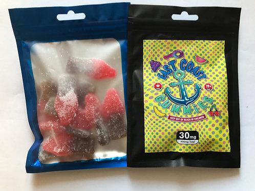 East Coast Gummies - 300mg THC/bag 30mg/gummy
