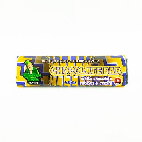Willy Wonka Chocolate Bar 500mg (Cookies and Cream)