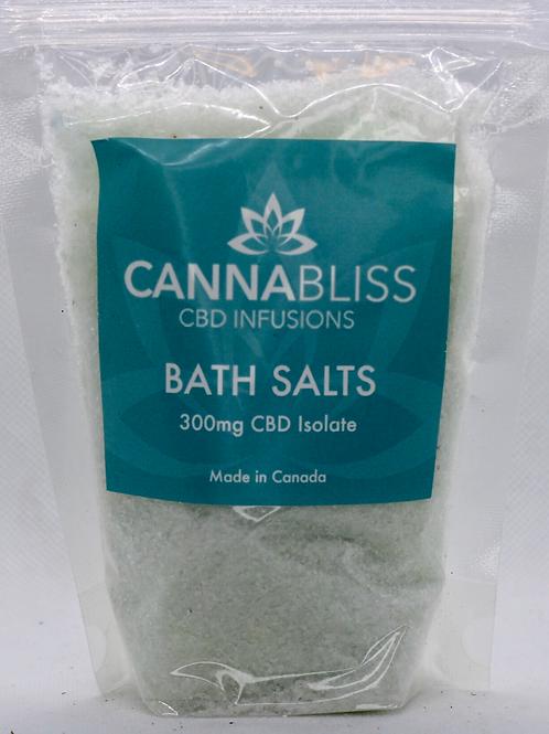 CannaBliss CBD Bath Salts - 300mg