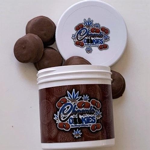 Chronic Cookies - Milk Chocolate - 300mg/jar 30mg/cookie
