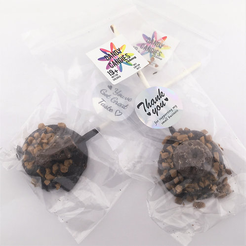 Dandy Candy - Fudge Salted Caramel Chocolate - 150mg