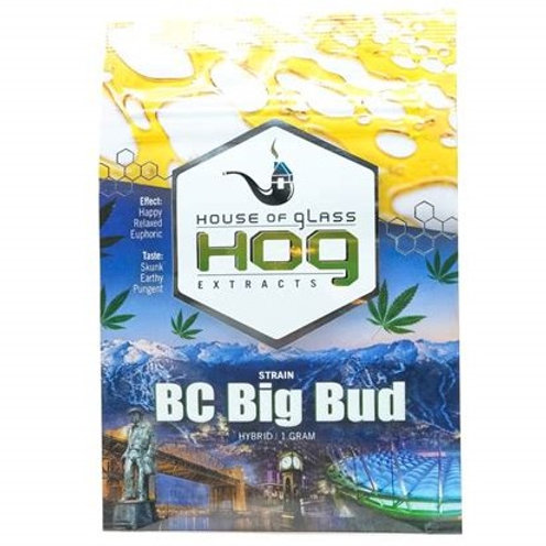 House of Glass Shatter - BC Big Bud