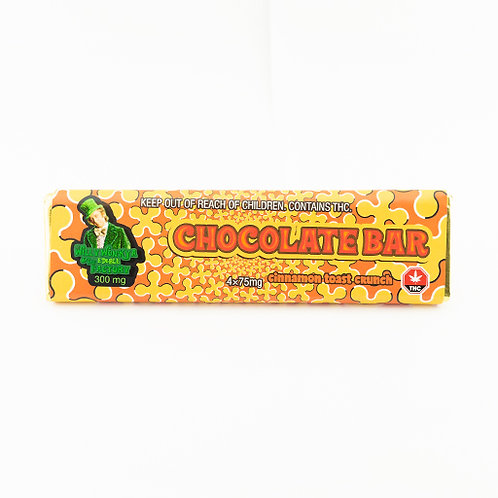Willy Wonka Chocolate Bar 300mg (Cinnamon Toast Crunch)
