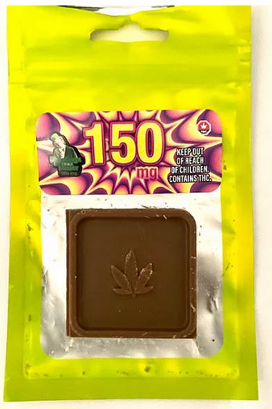 Willy Wonka Chocolate Bite 150mg