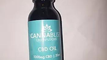 Cannabliss CBD Oil   1000mg