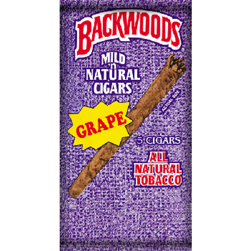 BACKWOODS -BLUNT WRAP (Grape)