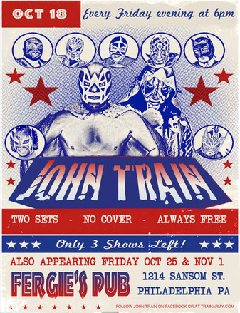 John Train - Mexican wrestling - Oct. 18