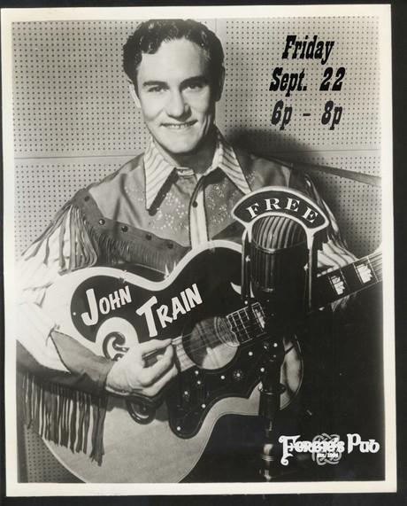 John Train flyer - lefty frizzel sept 22