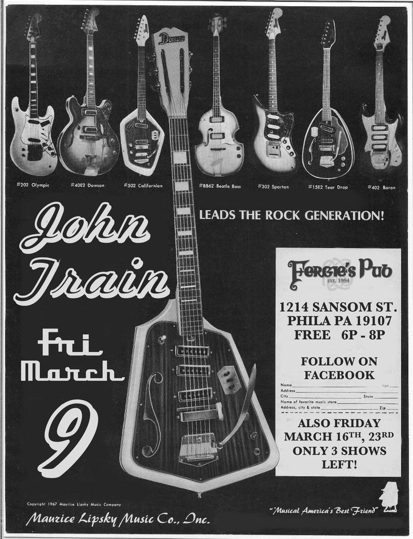 John Train - Fergies - March 9th 2018.jp