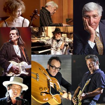 A toast to Farris, Knechtel, Dickinson, Updike, Deville, Dylan, Costello, Springsteen