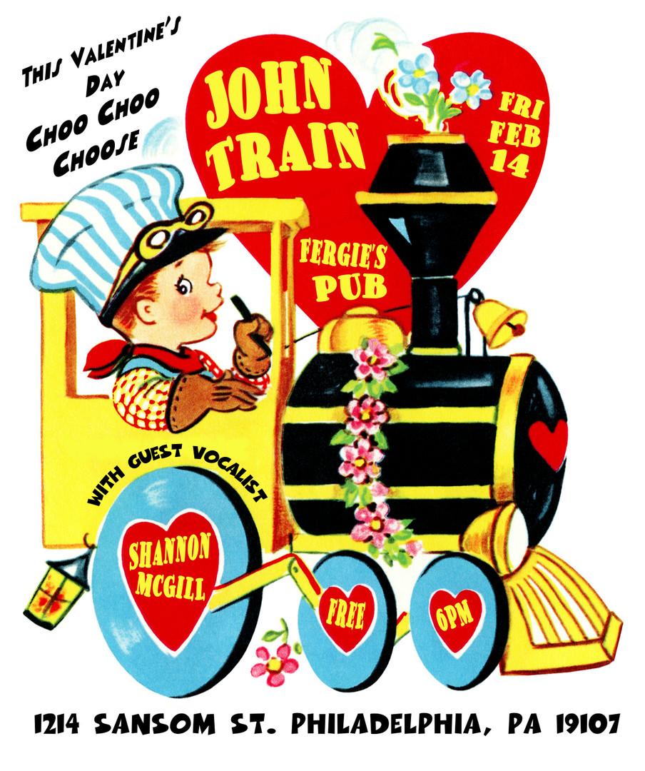 john train - Feb 14 - valentines w_ s. m