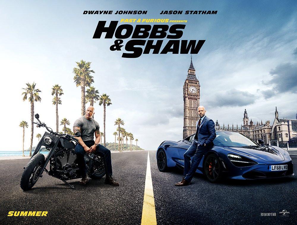 Velozes e Furiosos: Hobbs & Shaw ganhou um novo teaser trailer na última segunda-feira (11). (Imagem: Universal / Divulgação)