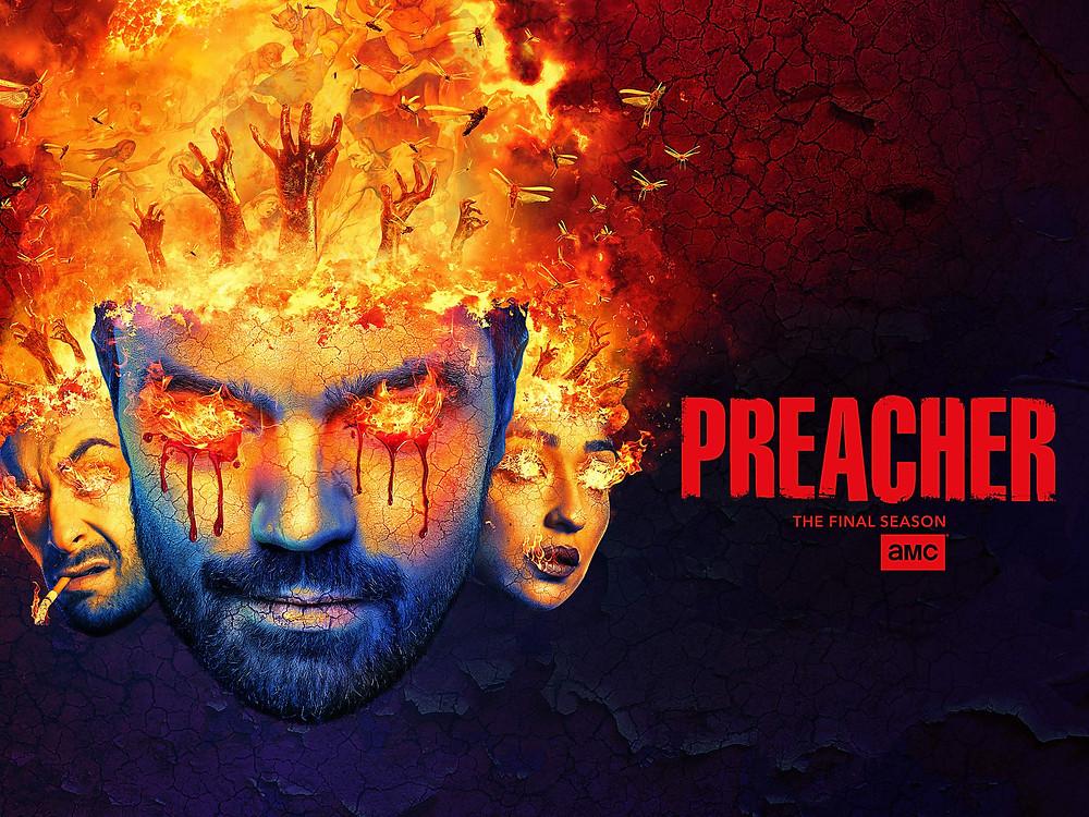A quarta temporada de Preacher foi a última do seriado, porém cabia mais para o público (Imagem: AMC / Reprodução)