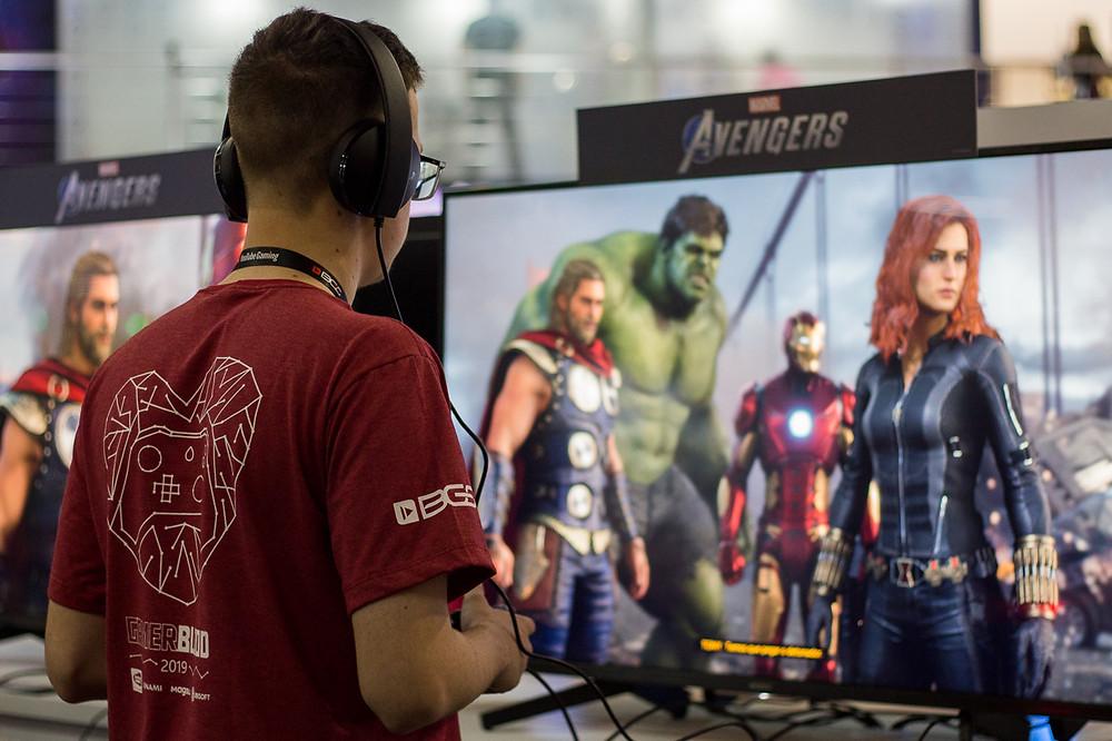 Com apenas 25 minutos jogados, as expectativas para Marvel's Avengers seguem cada vez mais altas (Foto: Bruno Bragante / Be Geeks)