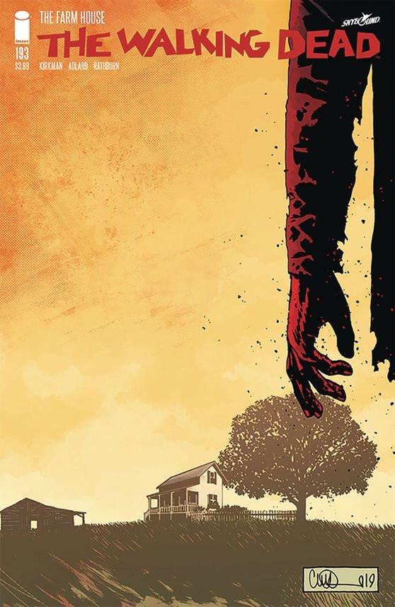 A edição #193 de The Waking Dead será a última dos quadrinhos