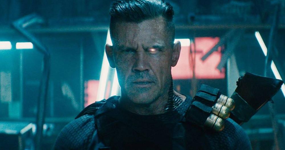 Além de ser Thanos no MCU, o ator Josh Brolin interpreta o mutante Cable, na franquia Deadpool (Imagem: Fox / Reprodução)
