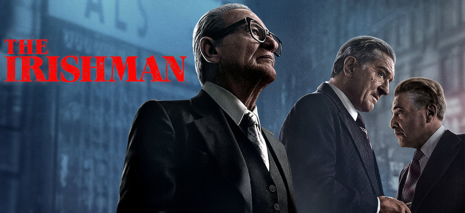 Com grandes nomes no elenco, O Irlandês é uma das grandes produções da Netflix neste ano (Imagem: Netflix / Divulgação)