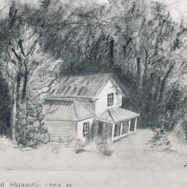 Green Level Chursh Rd Farmhouse, 8_ x10_