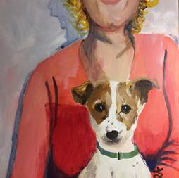 Caroline's Dog - Pepito-SOLD
